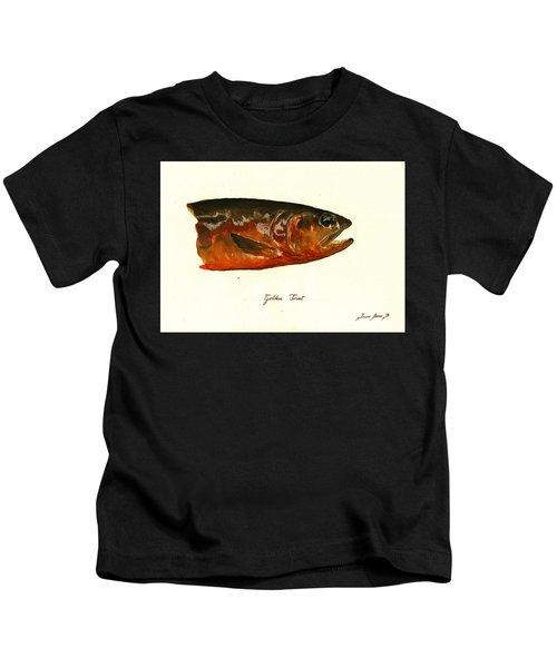 Golden Trout  Kids T-Shirt