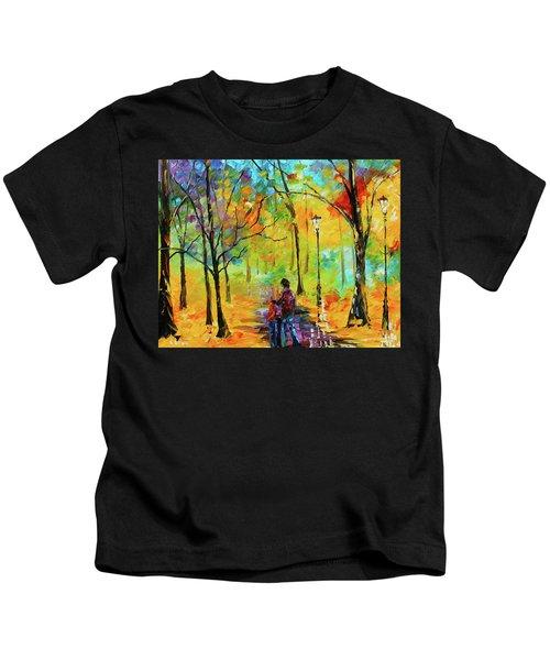 Golden Walk Kids T-Shirt