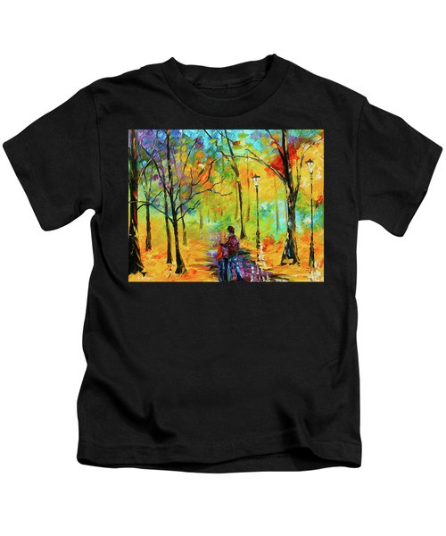 Golden Walk Kids T-Shirt