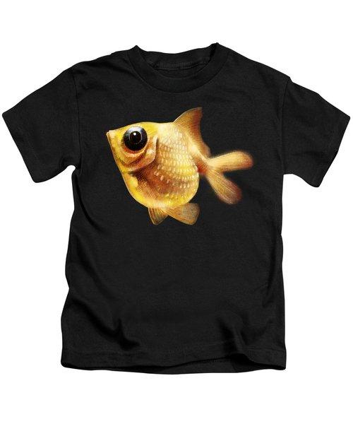 Goldfish Kids T-Shirt by Abdul Jamil