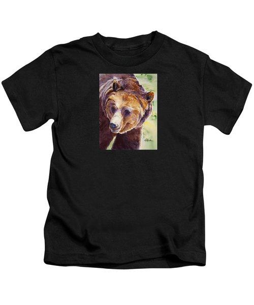 Good Day Sunshine - Grizzly Bear Kids T-Shirt