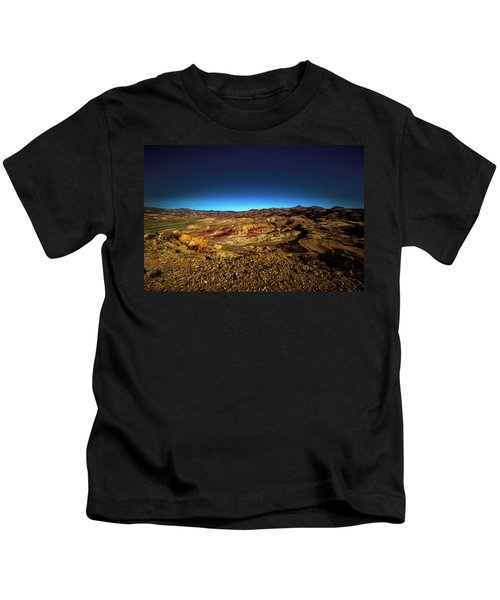 Good Morning From The Oregon Desert Kids T-Shirt