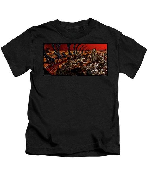 Gored-explored Kids T-Shirt