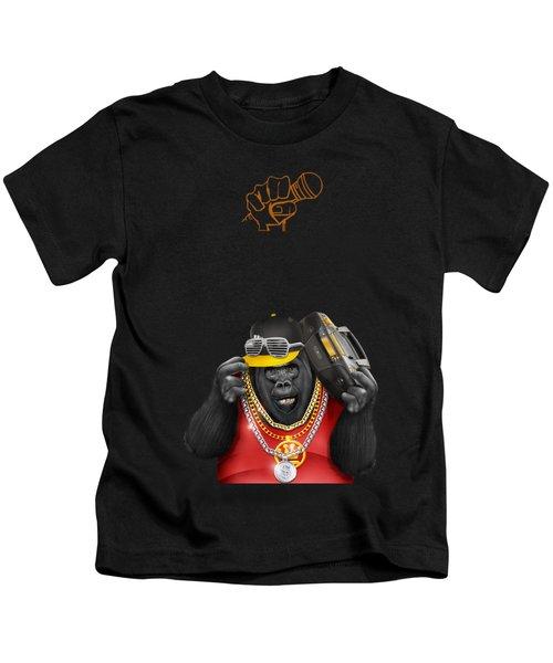 Gorillaz Hip Hop Style Kids T-Shirt