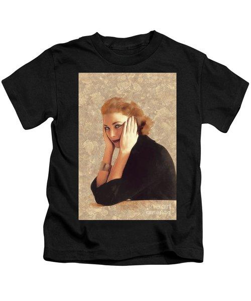 Grace Kelly, Hollywood Legend Kids T-Shirt