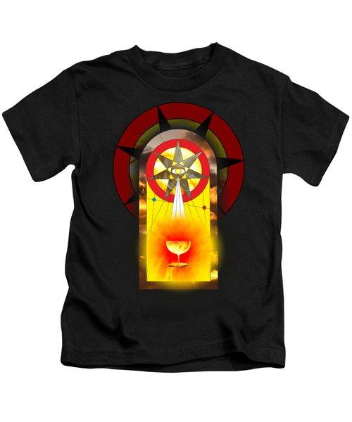 Grail Magic By Pierre Blanchard Kids T-Shirt by Pierre Blanchard