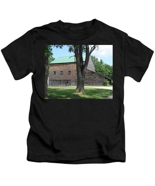 Grammie's Barn Through The Trees Kids T-Shirt