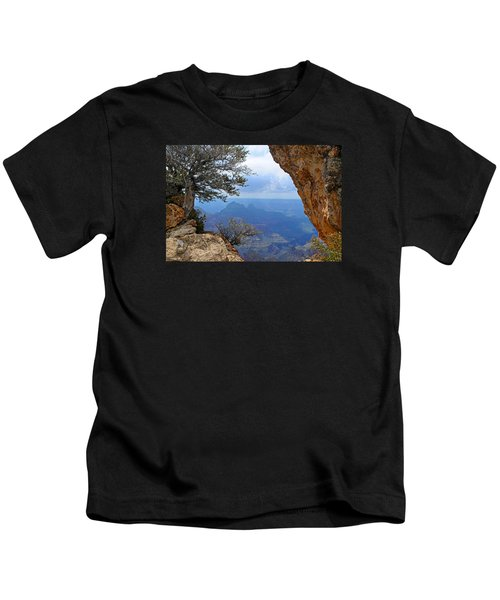 Grand Canyon North Rim Window In The Rock Kids T-Shirt