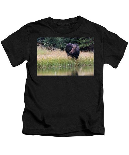 Grand Teton Moose Kids T-Shirt