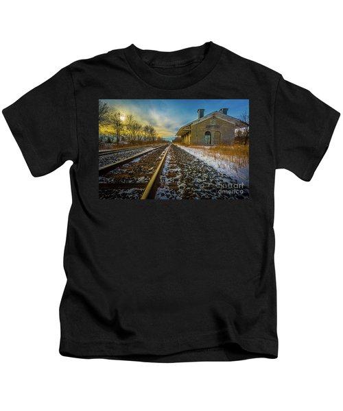 Grand Trunk Station  Kids T-Shirt