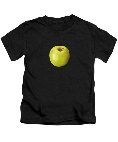 Granny Smith Apple Kids T-Shirt by Anastasiya Malakhova
