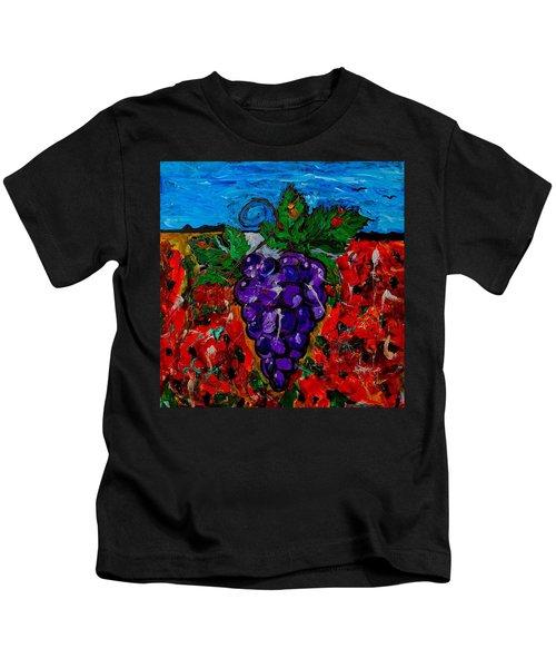 Grape Jazz Kids T-Shirt