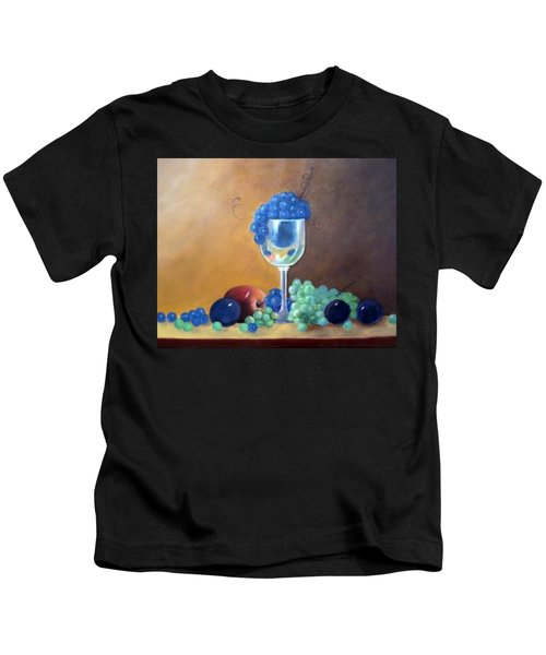 Grapes And Plums Kids T-Shirt