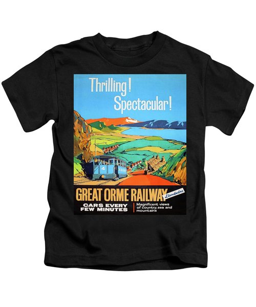 Great Orme Tramway, Great Britain Kids T-Shirt
