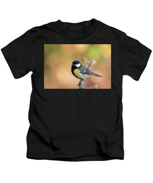 Great Tit - Parus Major Kids T-Shirt