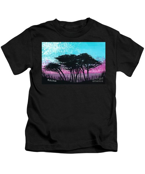 Grecian Sunset Kids T-Shirt