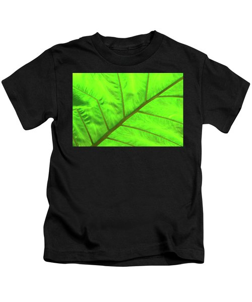 Green Abstract No. 5 Kids T-Shirt