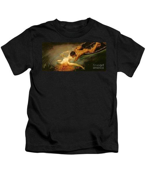 Green Abyss Kids T-Shirt