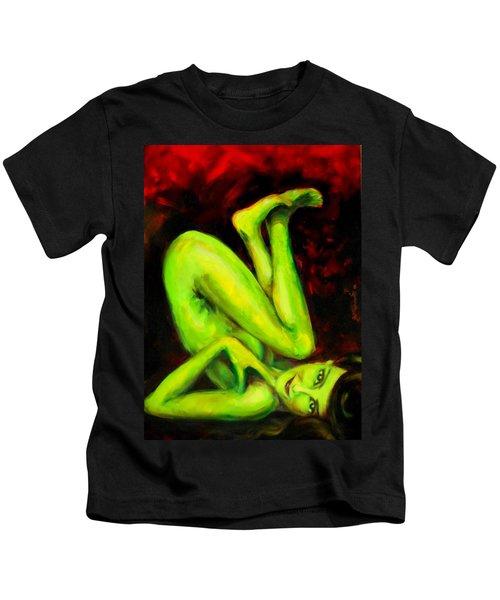 Green Apple Turnover Kids T-Shirt