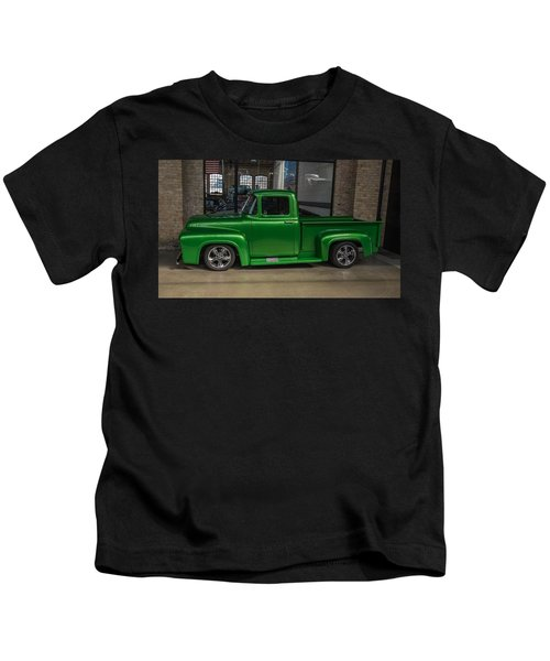 Green Car Kids T-Shirt