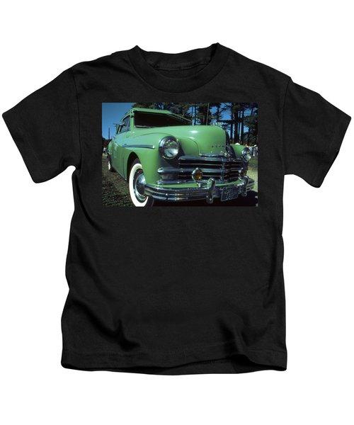 American Limousine 1957 - Historic Car Photo Kids T-Shirt