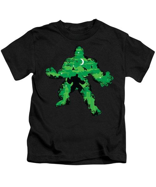 Green Monster Kids T-Shirt