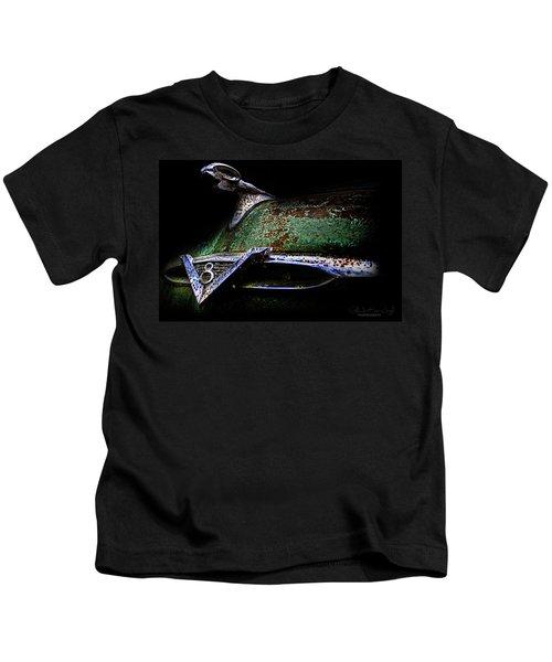 Green Ram Emblem Kids T-Shirt