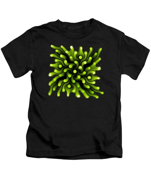 Green Sea Anemone Kids T-Shirt