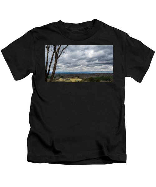 Grey Skies Kids T-Shirt