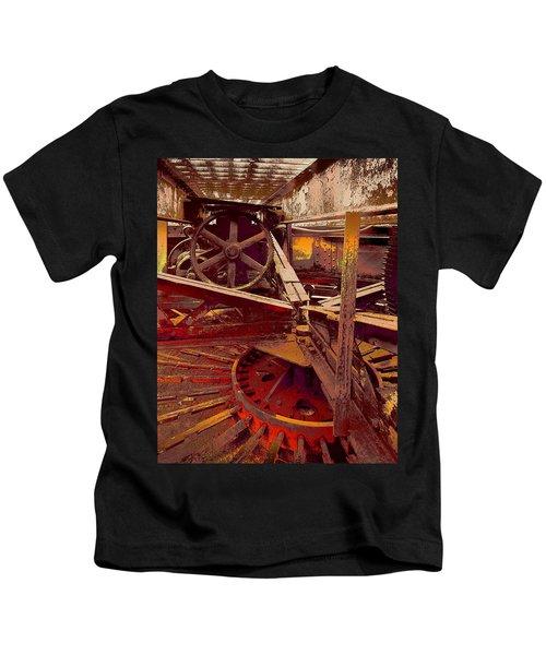 Grunge Gears Kids T-Shirt
