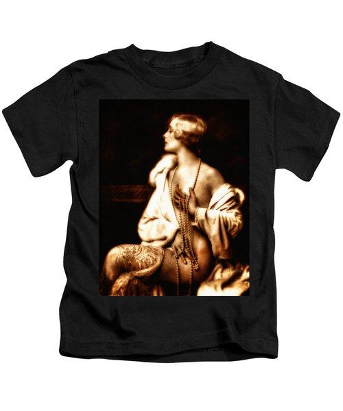 Grunge Goddess Kids T-Shirt