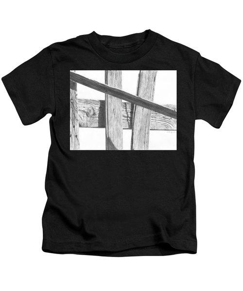 Guarding Time Kids T-Shirt