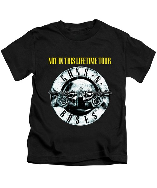 Guns And Roses Logo1 2017 Kids T-Shirt