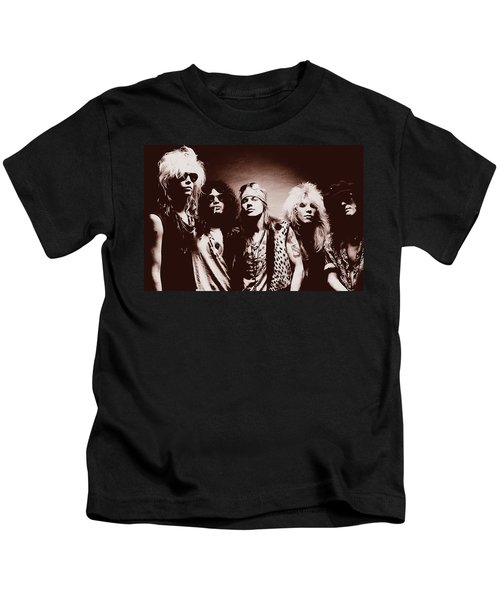 Guns N' Roses - Band Portrait 02 Kids T-Shirt
