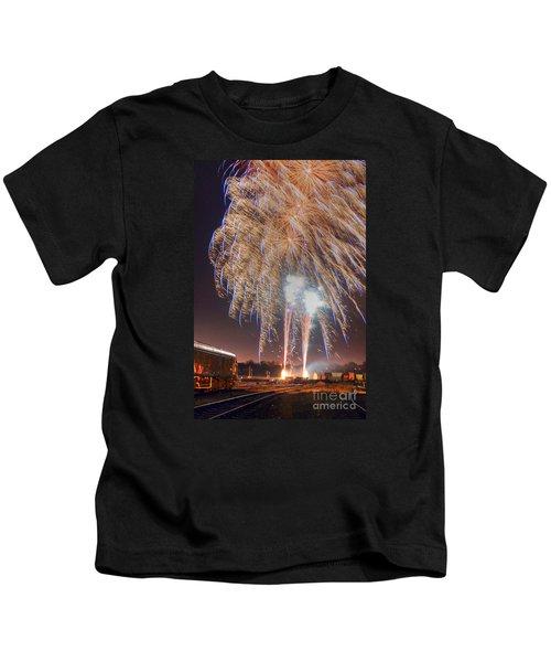 Guy Fawkes Night Fireworks Kids T-Shirt