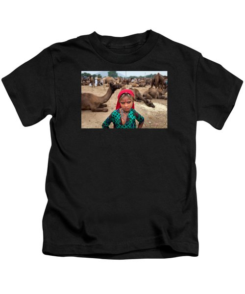 Gypsy Girl Kids T-Shirt