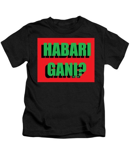 Habari Gani Kids T-Shirt