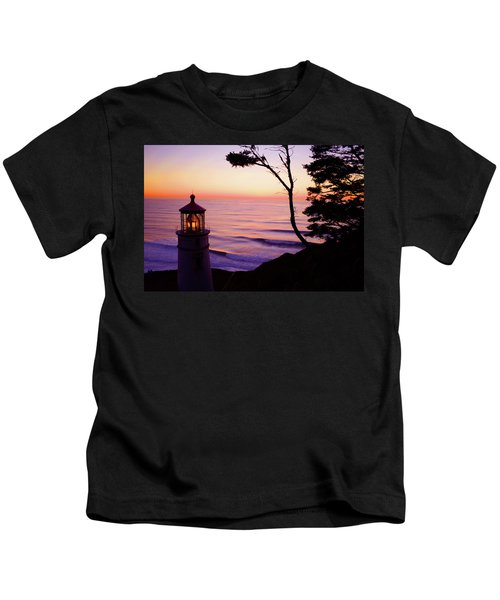 Haceta Head Lighthouse Kids T-Shirt