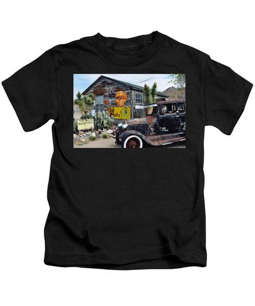 Hackberry Route 66 Auto Kids T-Shirt