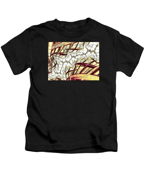 Hairline Fracture Kids T-Shirt