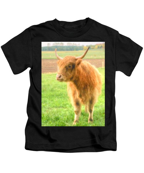 Hairy Coos Kids T-Shirt