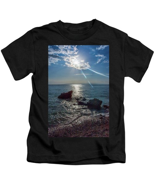 Haitian Beach In The Late Afternoon Kids T-Shirt