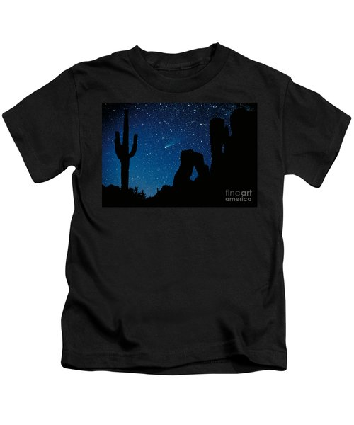 Halley's Comet Kids T-Shirt