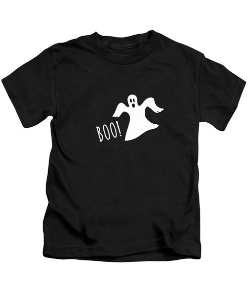 Halloween Ghost Boo Kids T-Shirt