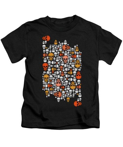 Halloween Kids T-Shirt by Mark Ashkenazi