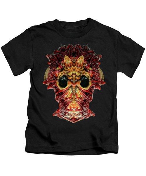 Halloween Mask 01214 Kids T-Shirt