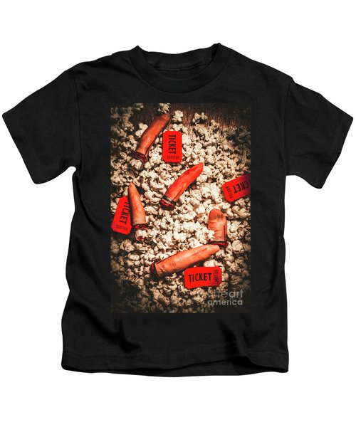 Halloween Slasher Film Kids T-Shirt