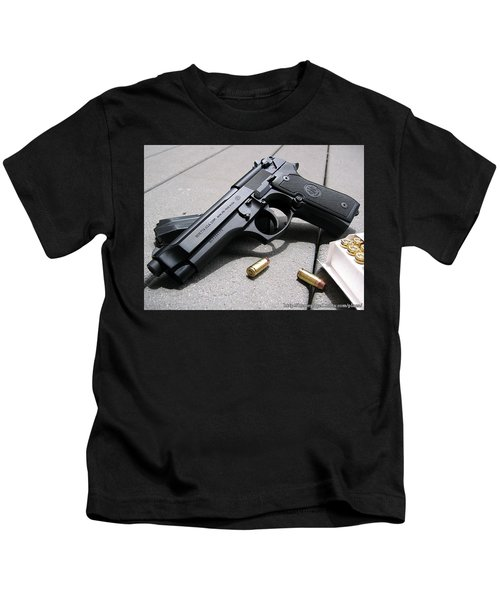 Handgun Kids T-Shirt