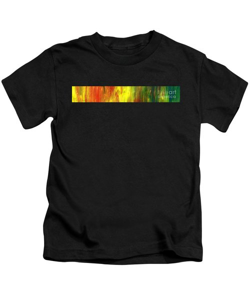 Happy Days Abstract Banner Kids T-Shirt