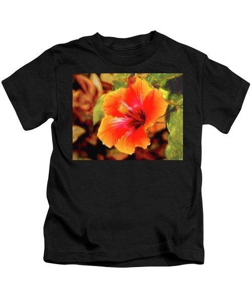 Happy Hibiscus Kids T-Shirt